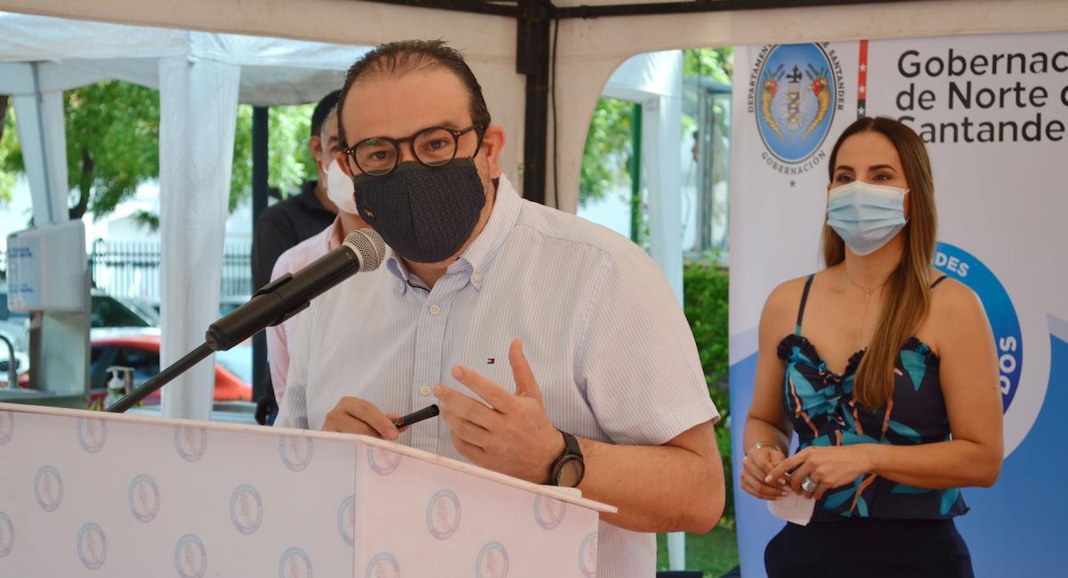 Silvano Serrano Guerrero, gobernador de Norte de Santander. Foto: Gobernación Norte de Santander