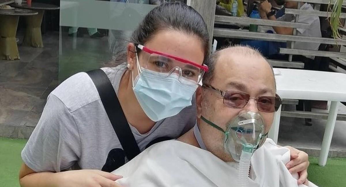 El padre de Paola Moreno pronto podría regresar a casa. Foto: Instagram