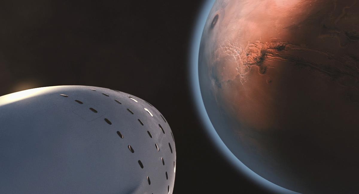 Marte, tiene un volcán y este genera relieves grandes en la superficie. Foto: Pixabay