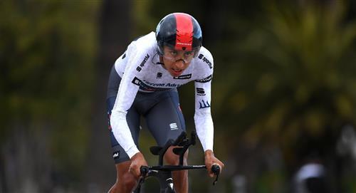Egan Bernal termina en la 4ta posición de la Tirreno-Adriático
