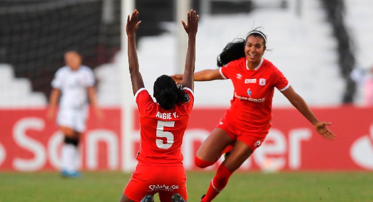 América de Cali Femenino clasifica a la final de la Libertadores. Foto: EFE