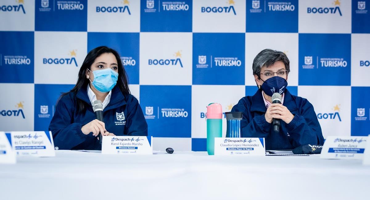 La nueva institución buscará promover los puntos turísticos de las localidades de Bogotá. Foto: Twitter @IDTBogotá