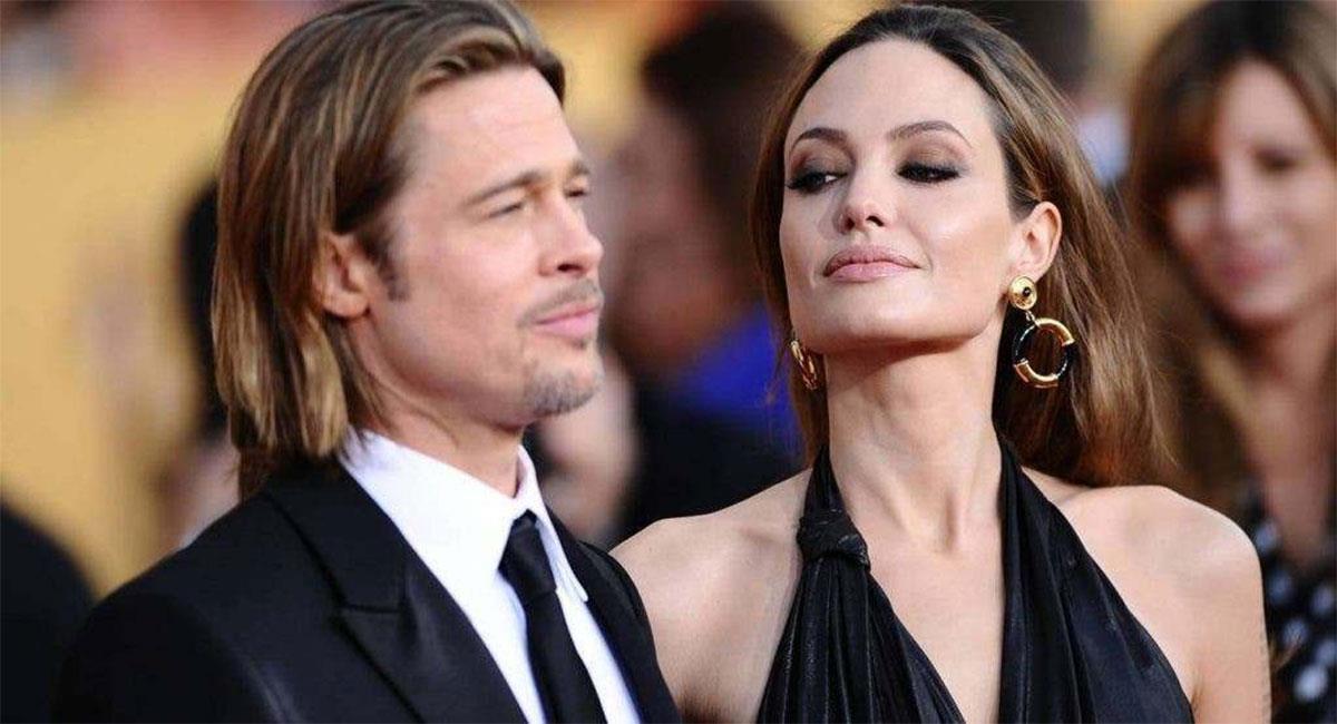 Brad Pitt y Angelina Jolie se separaron en 2016, dos años después de casarse. Foto: Twitter @keloke_RD