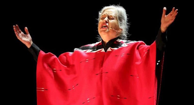 Musical sobre Chavela Vargas revive al teatro en el Movistar Arena de Bogotá