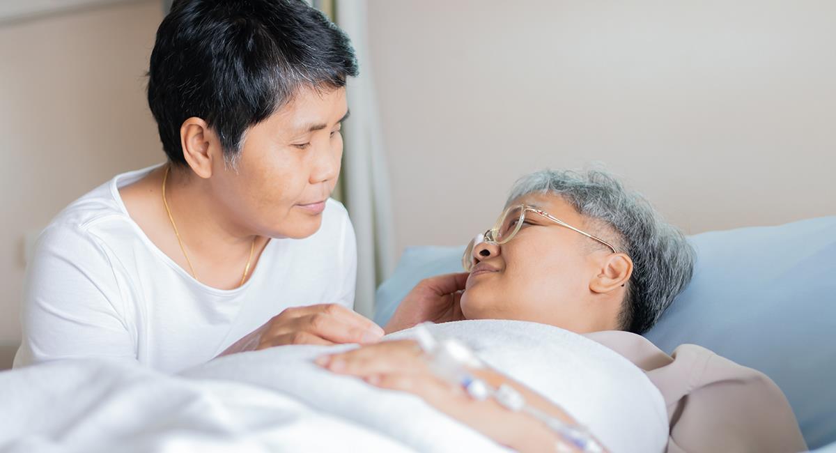 Ritual para pedir por la recuperación de una persona enferma. Foto: Shutterstock