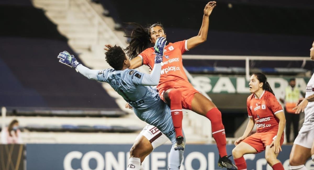 América subcampeona de la Copa Libertadores. Foto: Twitter Prensa redes Conmebol Libertadores Femenina.