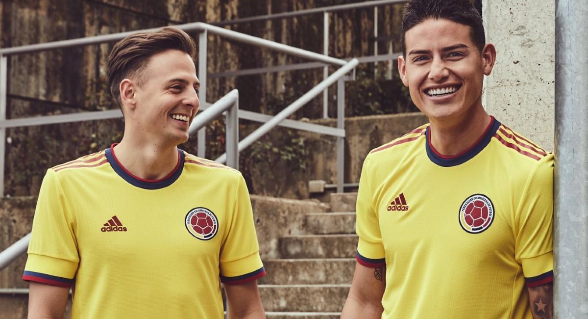 Esto es lo que costará la nueva camiseta de la Selección Colombia. Foto: Twitter @FCFSeleccionCol