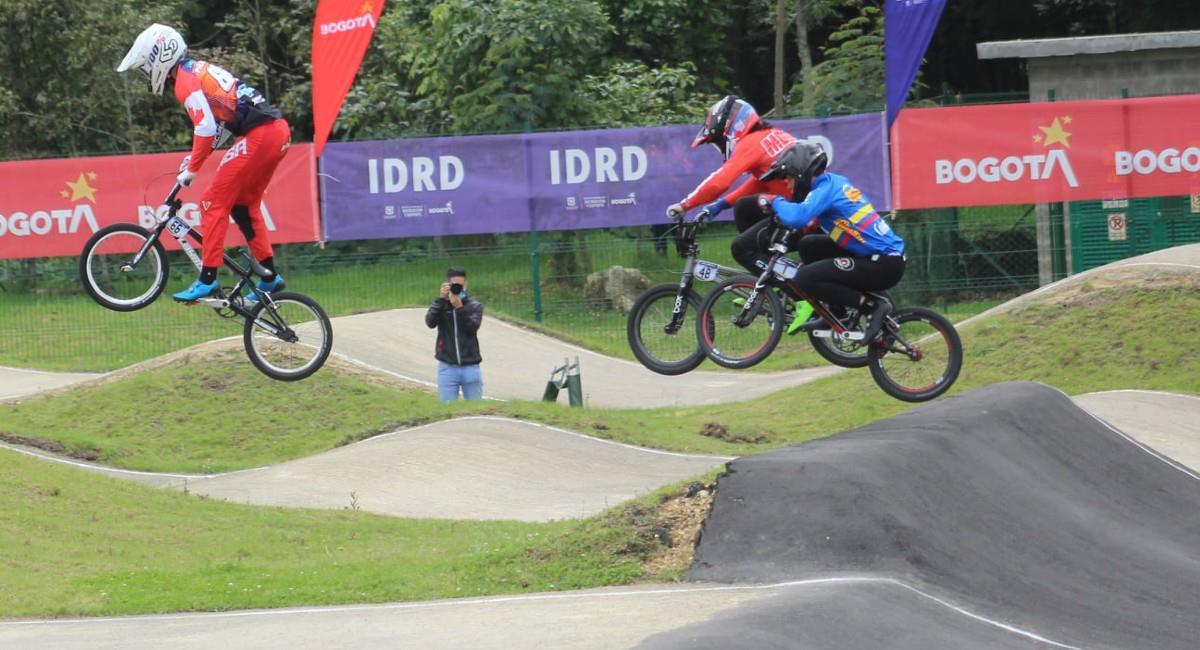 Bogotá será sede en mayo del Mundial de BMX. Foto: Prensa Comisión Distrital BMX / Richard Monterrosa