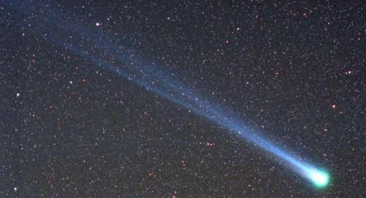 """Los investigadores se dieron cuenta con Hyakutake que """"los cometas emitían Rayos X"""". Foto: Twitter @Mitsyssa"""