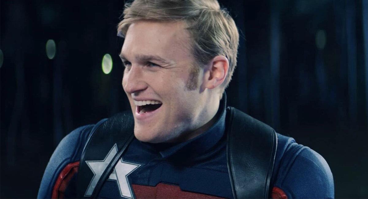Wyatt Russell da vida a John Walker, el nuevo 'Capitán América'. Foto: Twitter @falconandwinter