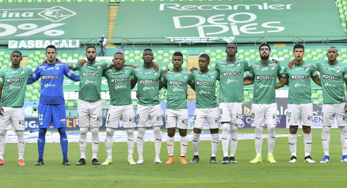 En menos de una semana, los hinchas han arremetido contra jugadores y cuerpo técnico del Deportivo Cali. Foto: Twitter @AsoDeporCali