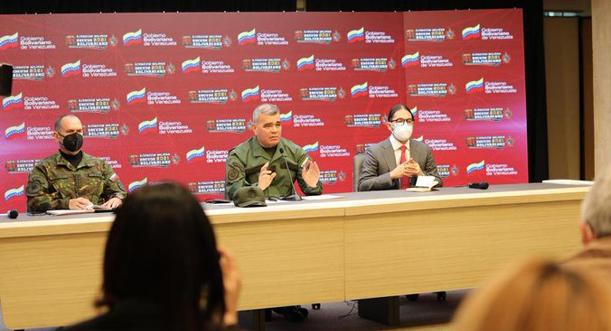 El ministro de Defensa de Venezuela, Vladimir Padrino acusa a Iván Duque de querer desestabilizar a Venezuela. Foto: Twitter @Mippcivzla