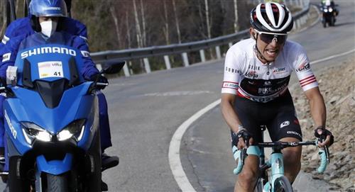 El 'Chavito' campeón de la montaña en la Vuelta a Cataluña
