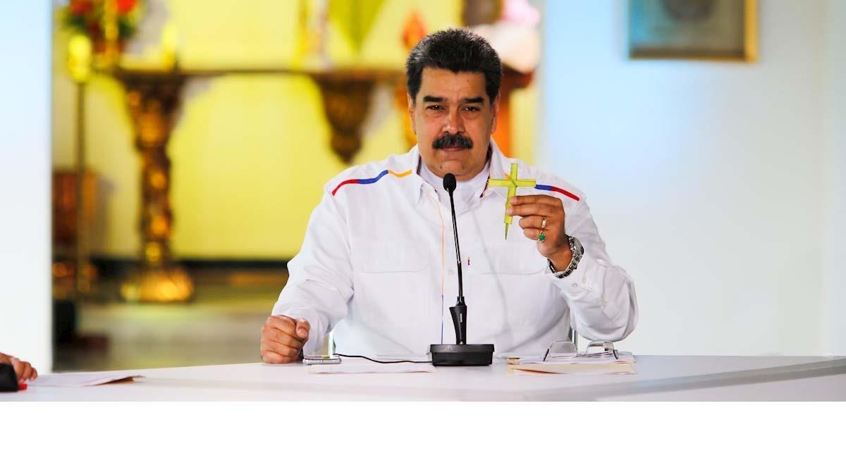 Nicolás Maduro, presidente de Venezuela. Foto: EFE