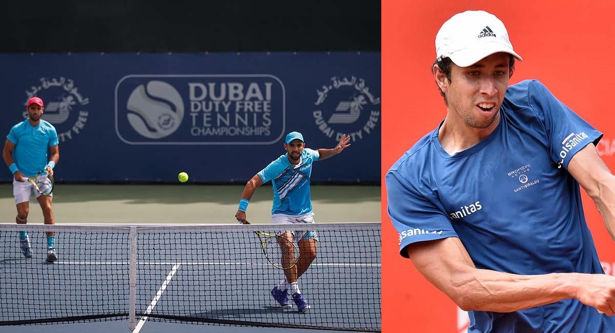 Cabal y Farah, así como Daniel Galán, son de los mejores exponentes del tenis colombiano. Foto: Fedecoltenis