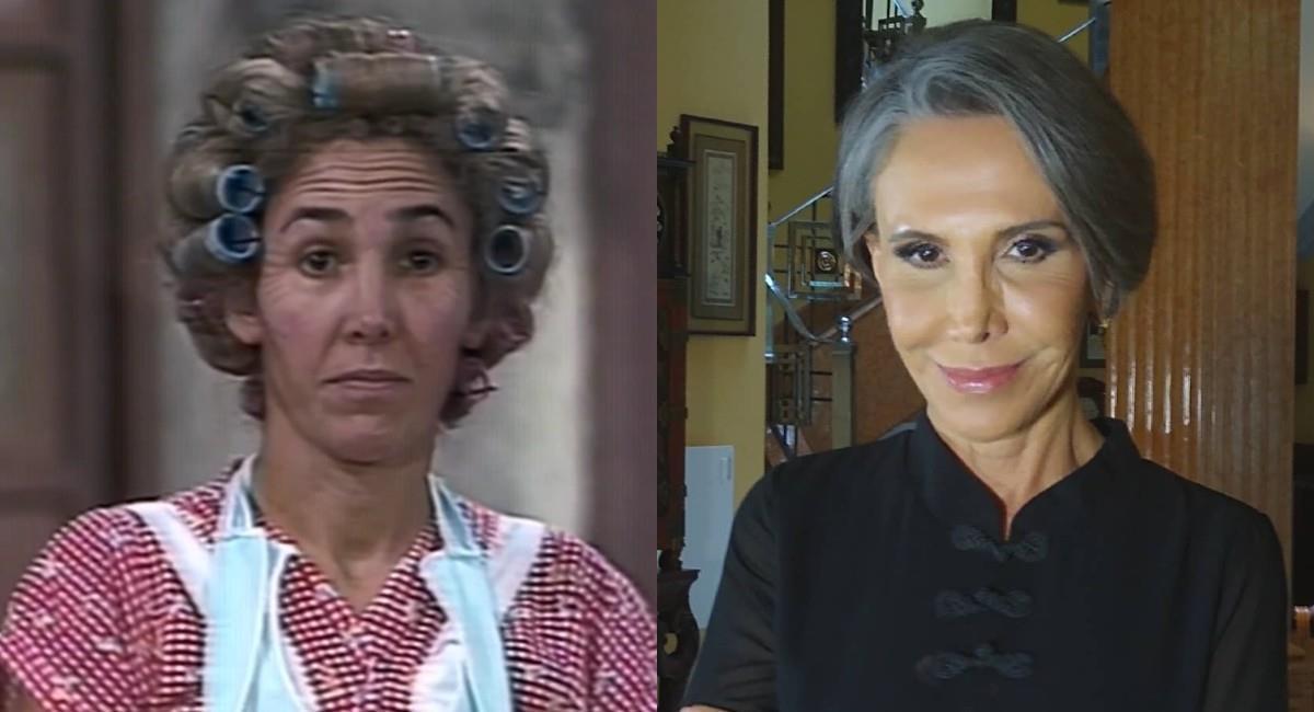 La actriz usó su famoso personaje de 'Doña Florinda' para llamar la atención de los internautas. Foto: Instagram
