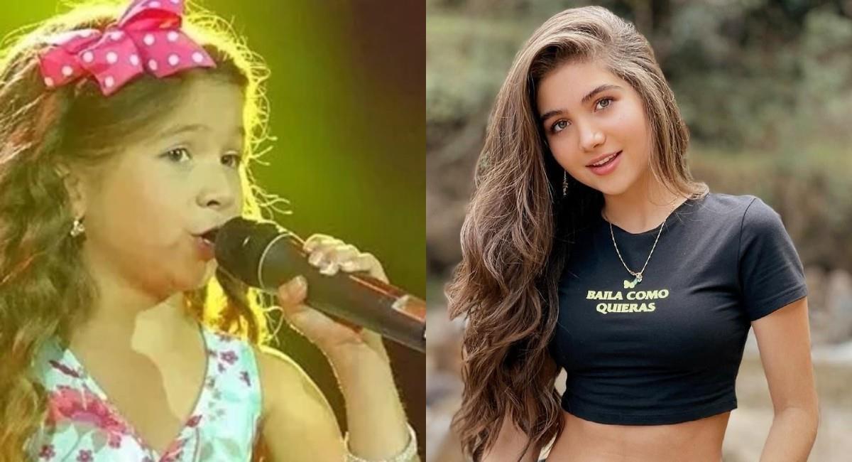 Hizo parte del 'Factor Xs' cuando tenía 8 años. Foto: Instagram