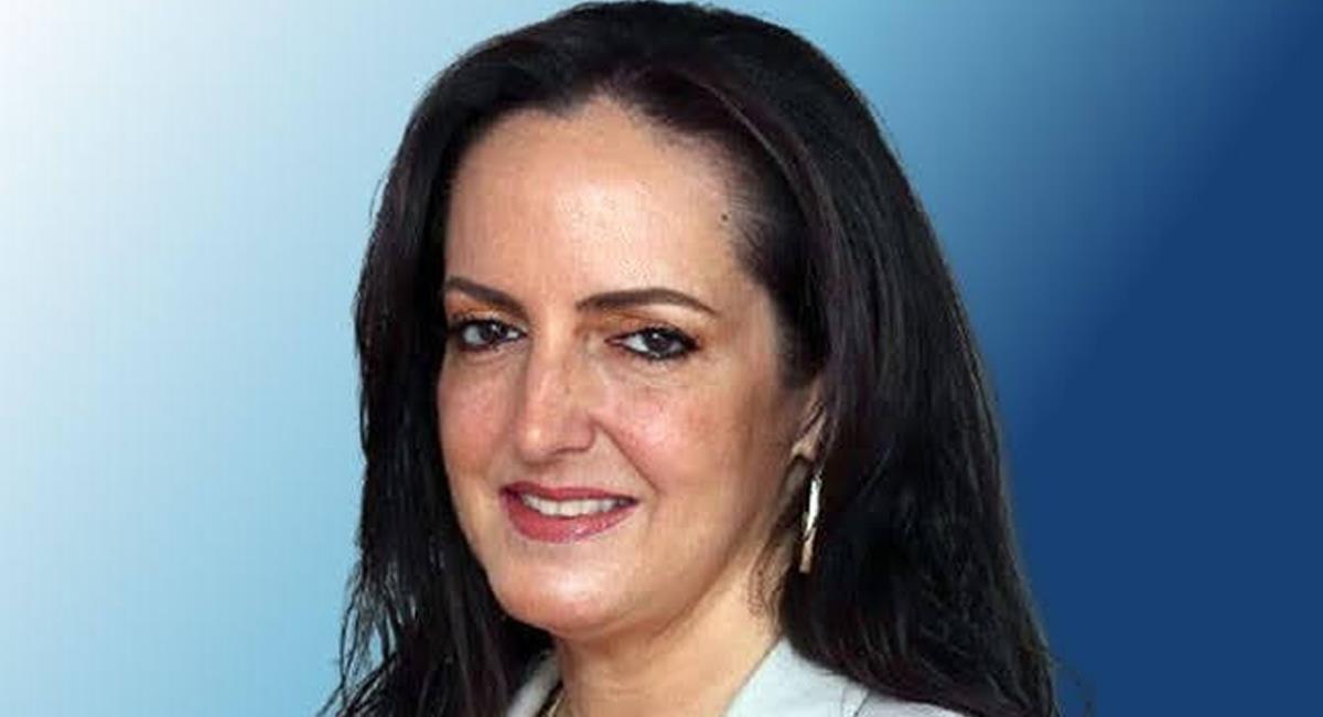 """La senadora María Fernanda Cabal se mostró en desacuerdo por la entrega de dos premios India Catalina para la serie """"Matarife"""". Foto: Twitter @ElPuebloPty"""