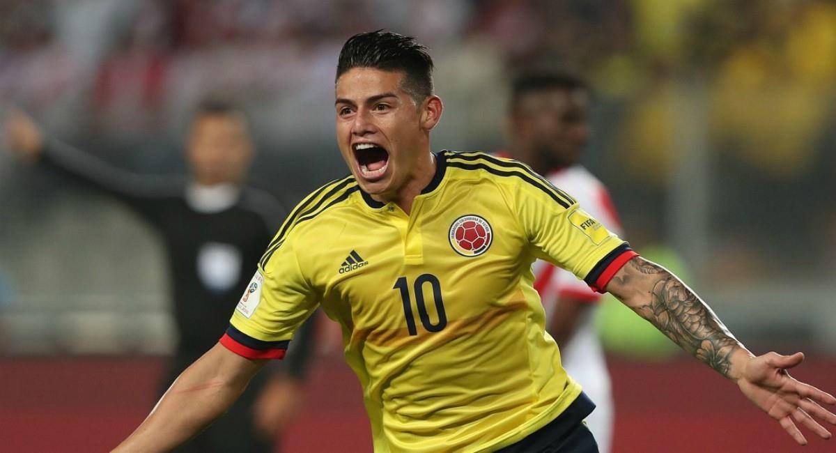 James Rodríguez habló de la Selección Colombia. Foto: Twitter Prensa redes Selección Colombia.