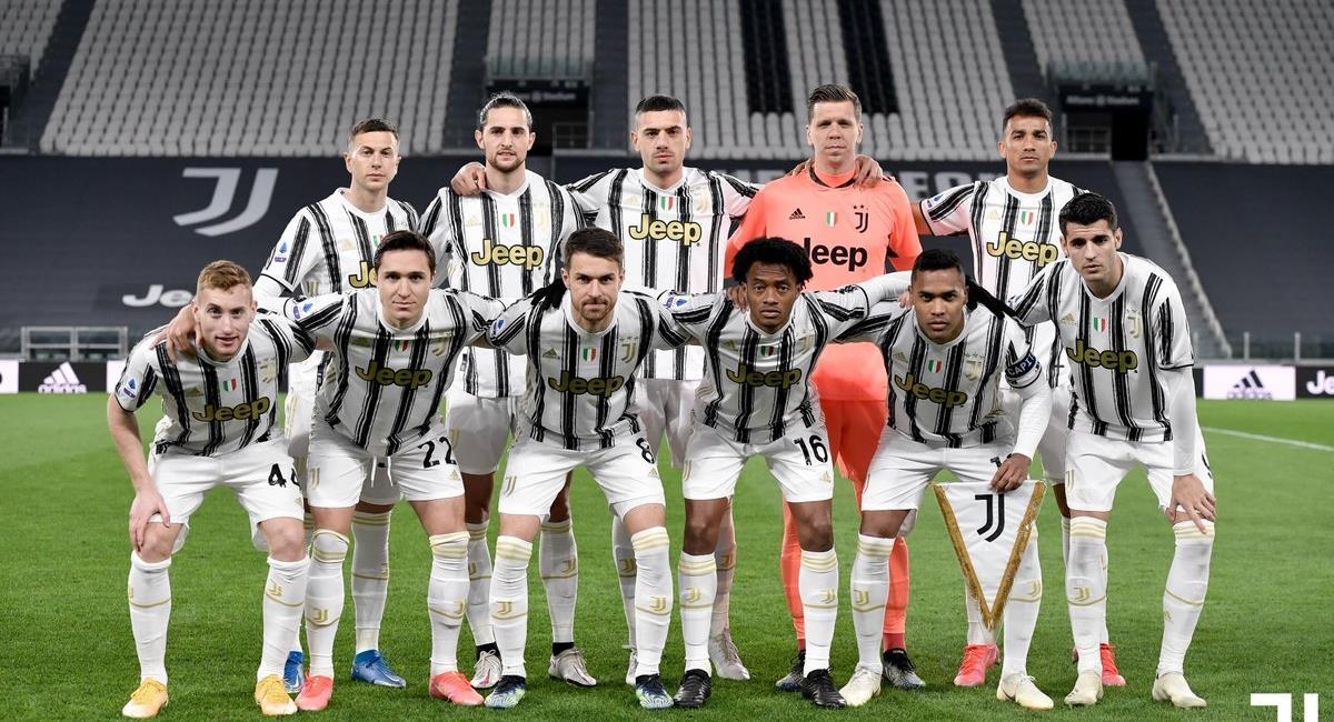 Jugadores de Juventus multados por fiesta. Foto: Twitter Prensa redes Juventus.