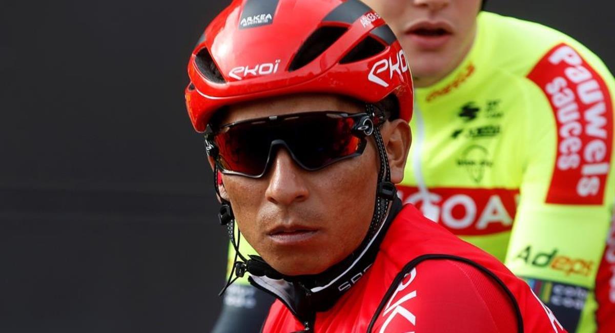 Nairo habló de crisis en el ciclismo colombiano. Foto: EFE
