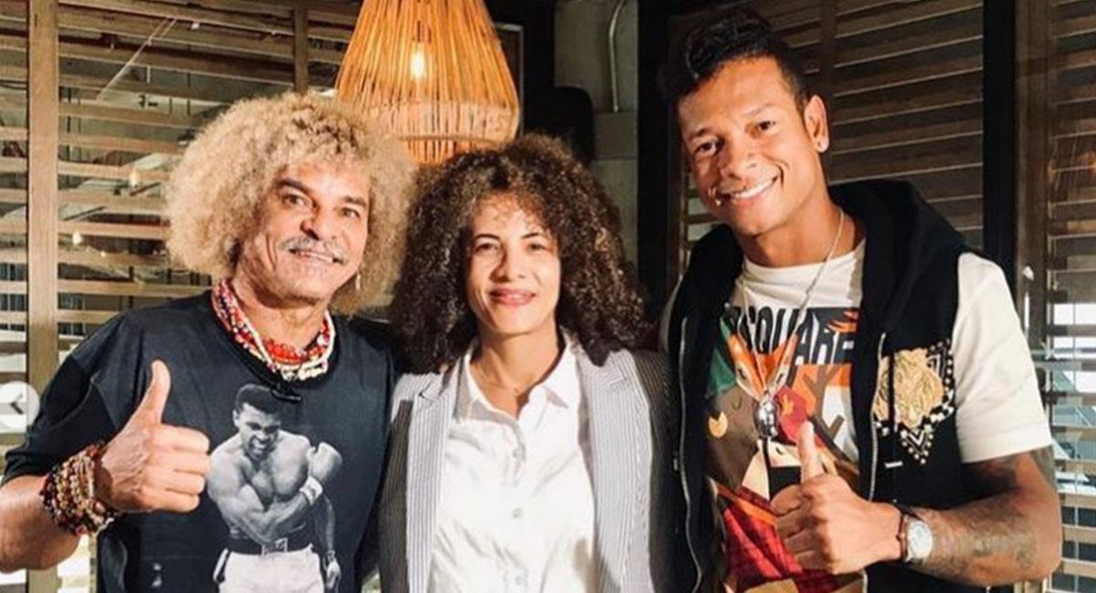 'El Pibe' Valderama y Guarín tuvieron un fuerte cruce de palabras hace unos años. Foto: Instagram @pibevalderramap