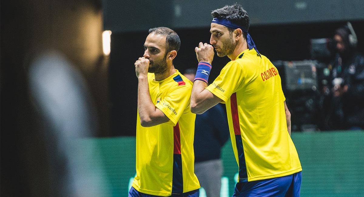 Cabal y Farah no pudieron avanzar de octavos de final del  Masters 1.000 de Miami. Foto: Twitter @fedecoltenis