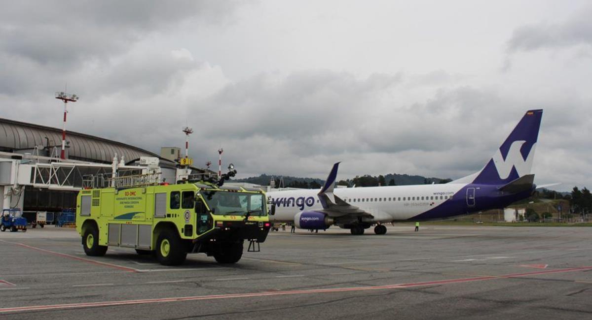 El vuelo inaugural fue el pasado 28 de marzo. Foto: Twitter @Wingo