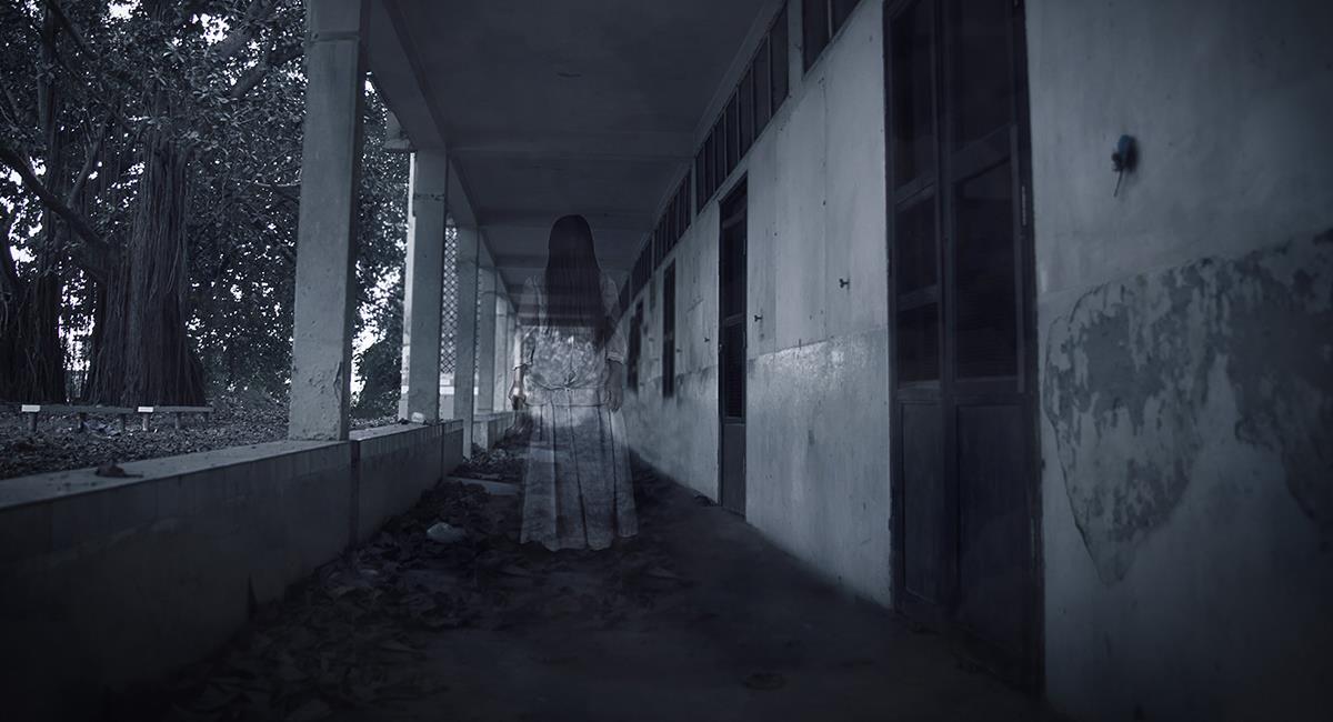 """Cámara de seguridad capta imágenes sobre un supuesto """"fantasma"""". Foto: Shutterstock"""