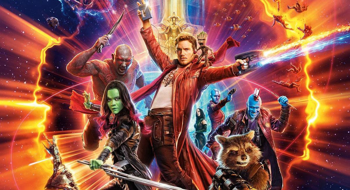 """Guardianes de la Galaxia"" estrenó su última cinta en 2017. Foto: Twitter @Guardians"