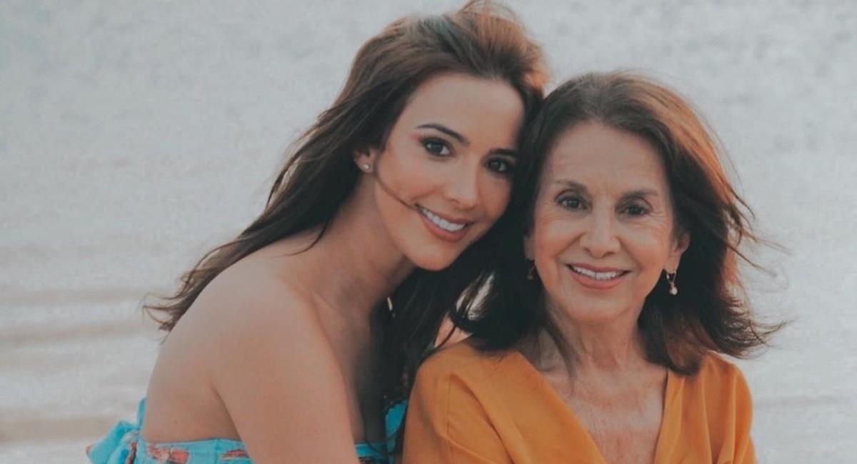 Violeta Bergonzi junto a su madre. Foto: Instagram