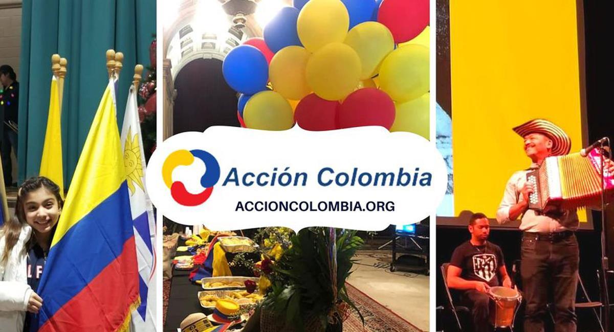 Los colombianos residenciados en Filadelfia cuentan con una organización que brinda ayuda en temas consulares y brinda espacios culturales. Foto: Facebook Acción Colombia