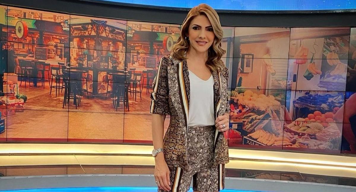 La presentadora de 'Noticias RCN' y su familia están aislados en casa. Foto: Instagram