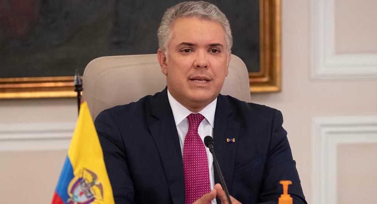 Duque asegura que IVA no va a incrementar en algunos productos. Foto: Presidencia de Colombia