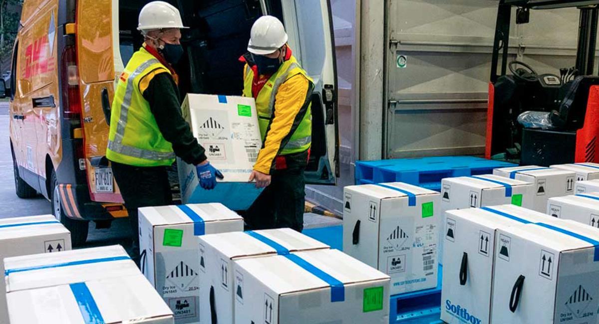 Colombia espera recibir 8 millones de vacunas en abril. Foto: Presidencia de Colombia