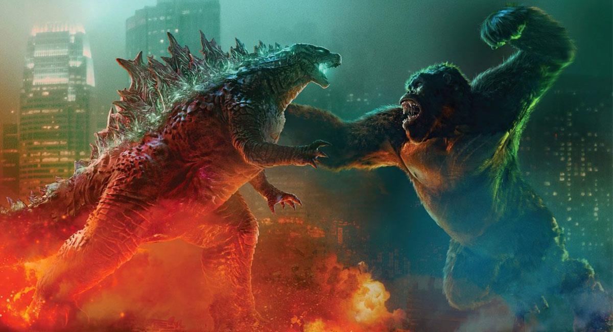"""""""Godzilla vs. Kong"""" ha logrado grandes cifras en taquilla pese a la pandemia de la COVID-19. Foto: Twitter @GodzillaVsKong"""