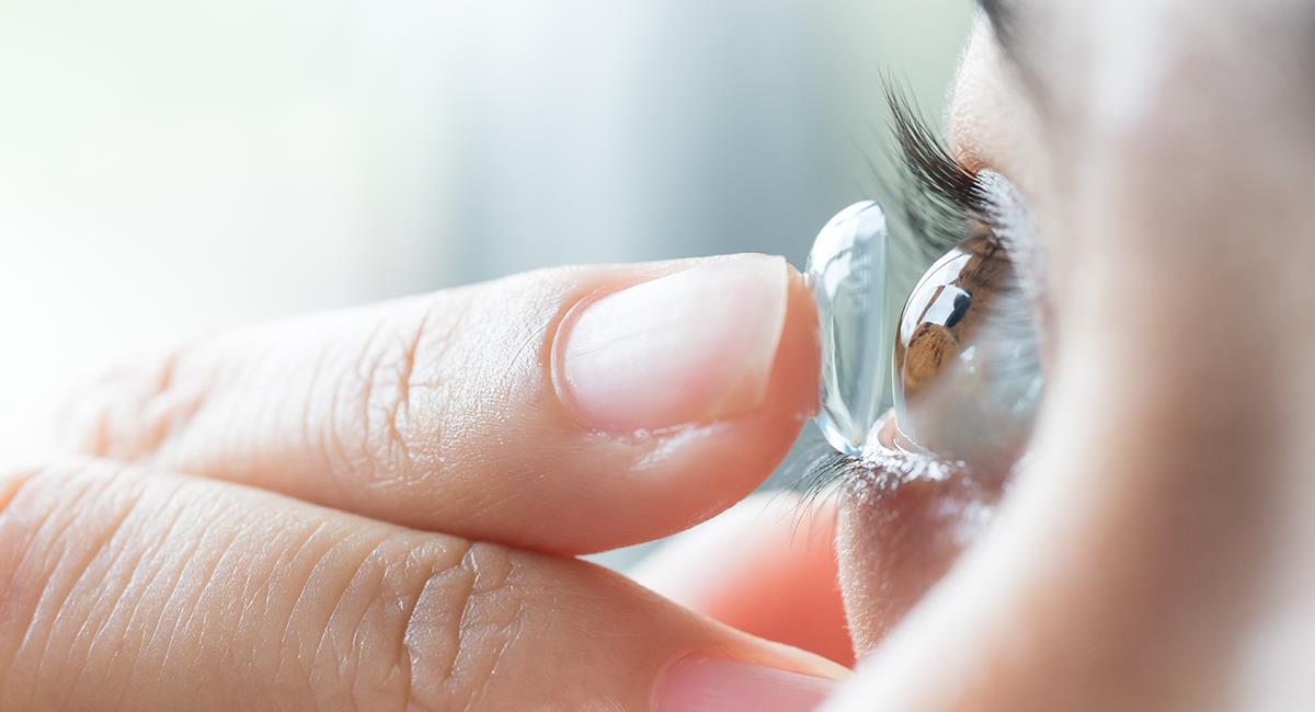 4 cuidados para tener en cuenta si vas a hacer ejercicio con lentes de contacto. Foto: Shutterstock