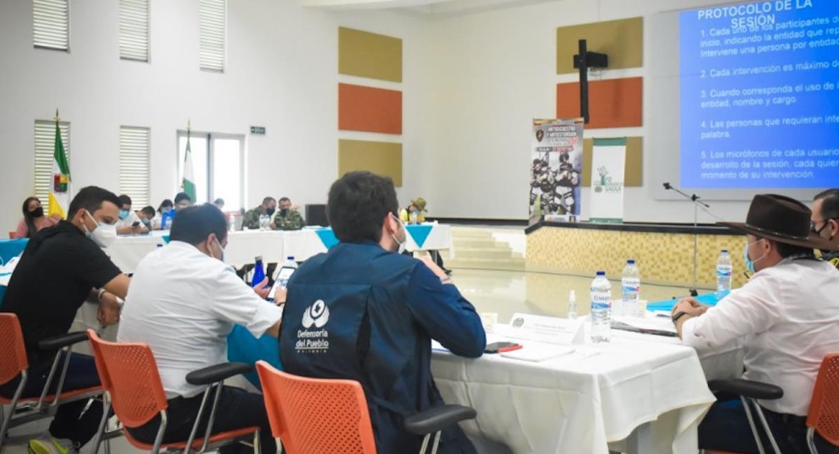 Boyacá y Casanare en alerta ante el retorno del paramilitarismo. Foto: Defensoría del Pueblo