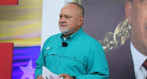 """""""En caso de guerra, se hará en Colombia"""": Diosdado Cabello"""