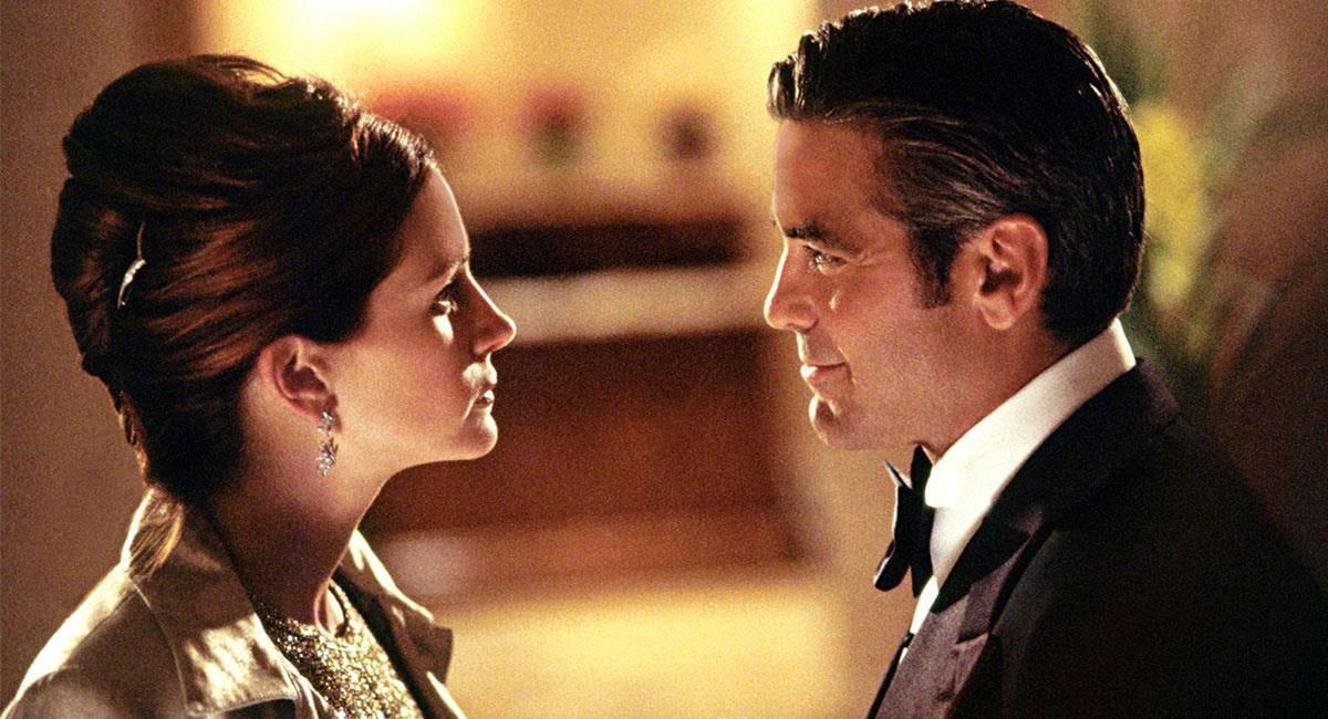 """George Clooney y Julia Roberts son recordados por su actuación en """"la Gran Estafa"""". Foto: Twitter @fotogramas_es"""