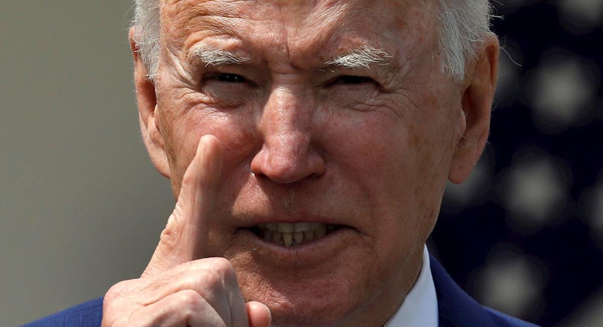 Biden pidió un alto a la violencia en Estados Unidos. Foto: EFE