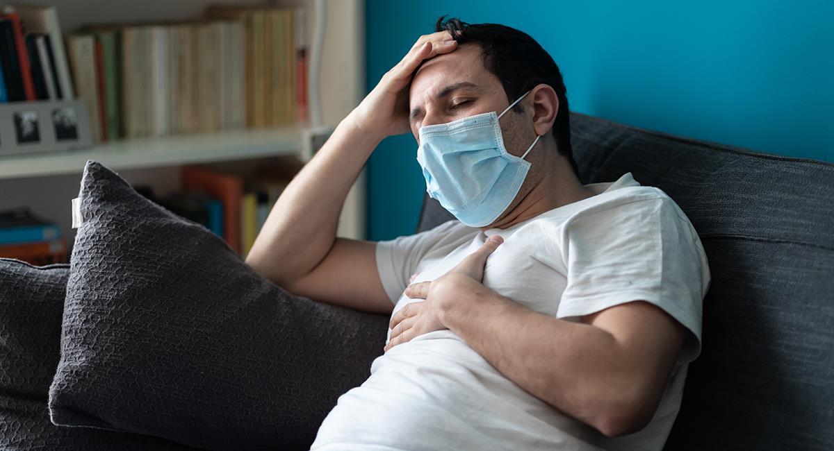 Reinfección por COVID-19: los síntomas podrían ser más fuertes. Foto: Shutterstock