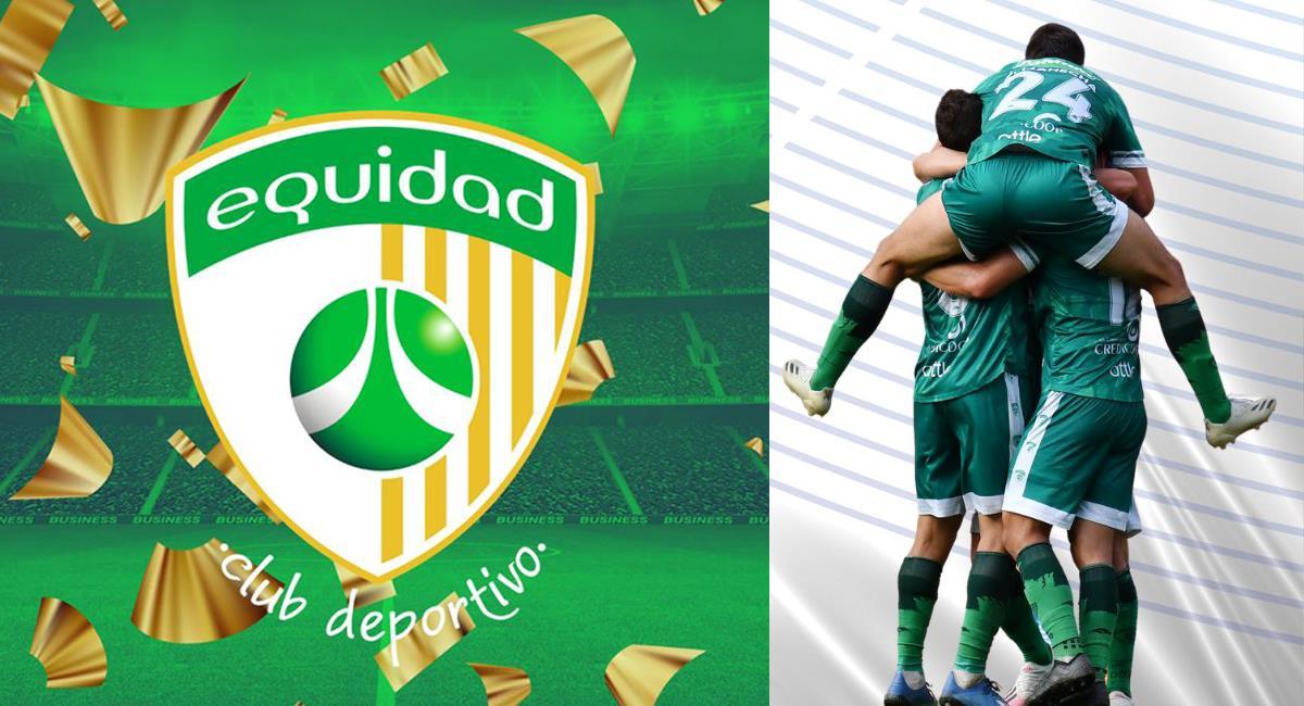 La Equidad dio vuelta a la serie y dejó en el camino a Pasto en su propio estadio y ahora irá a la fase de grupos de la Conmebol Sudamericana. Foto: Twitter @Equidadfutbol