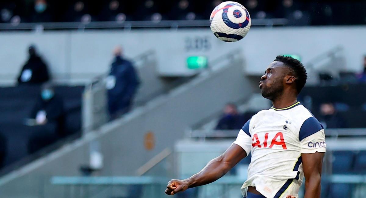 Davinson Sánchez, jugador colombiano de Tottenham. Foto: EFE
