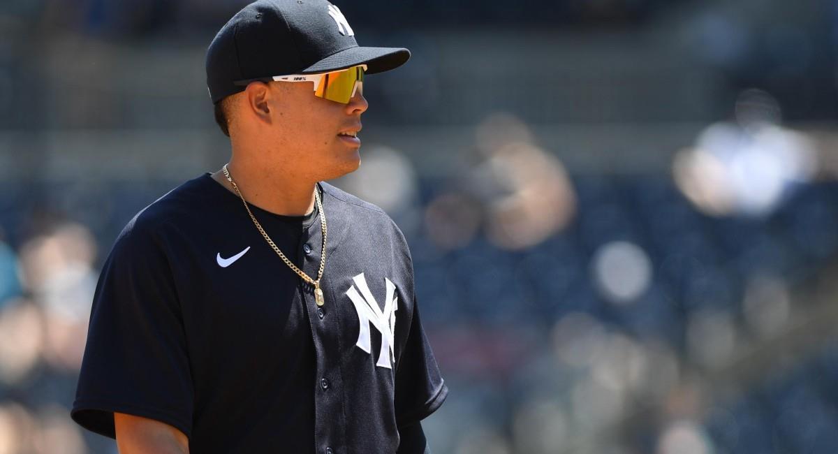 Gio Urshela, jugador colombiano de los New York Yankees. Foto: Twitter @Yankees_Beisbol