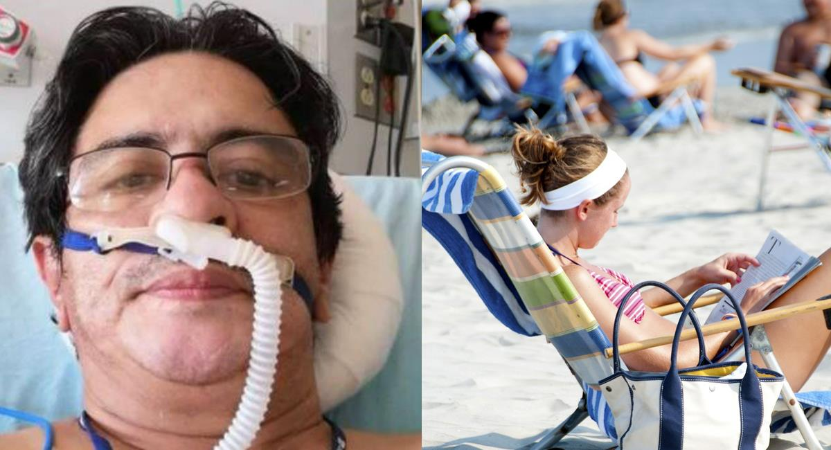 El hermano de un médico fallecido por la COVID-19 increpó a quienes se van de vacaciones a la playa a pesar de la dura situación de pandemia. Foto: Twitter @CriterioHidalgo/Pixabay
