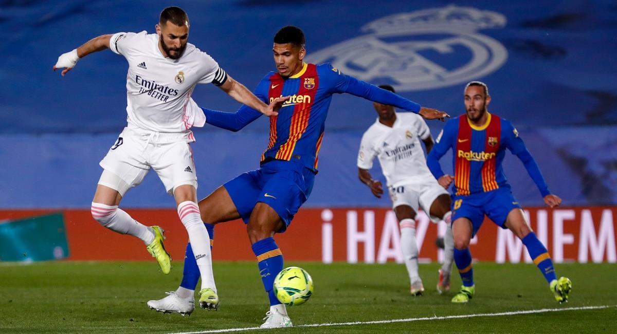 Real Madrid le ganó el clásico al Barcelona. Foto: Twitter Prensa redes Real Madrid.