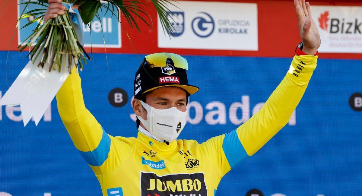 Primoz Roglic es el campeón de la Vuelta al País Vasco 2021. Foto: EFE