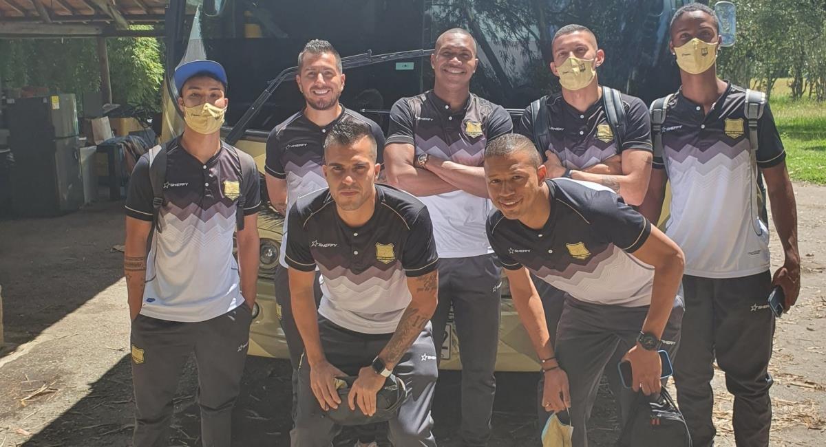 Águilas Doradas jugará con 7 futbolistas. Foto: Twitter Prensa redes Águilas Doradas.