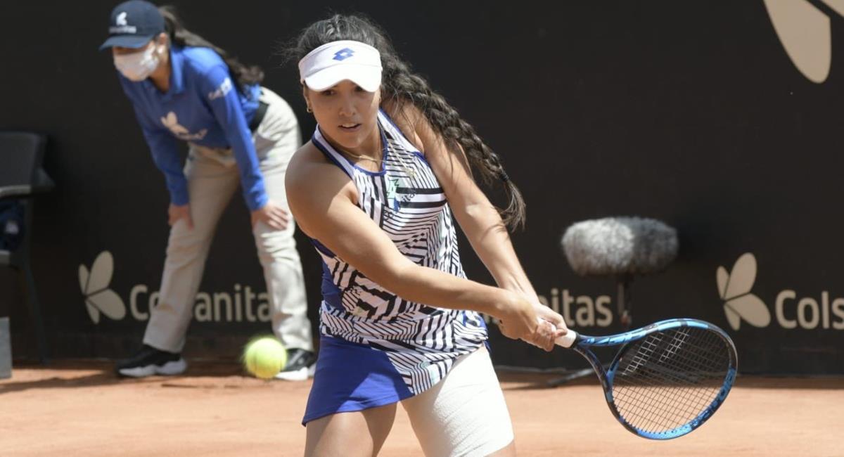 María Camila Osorio es campeona en Bogotá